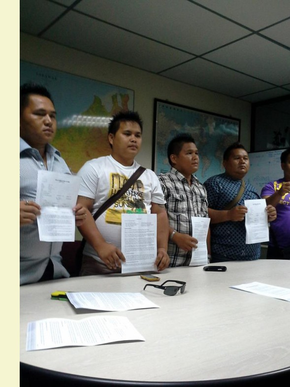 Penan lodged police report against SEB and Sarawak Government