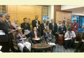 SAVE Rivers on campaign visit to the Malaysian Parliament