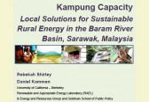 Scientists present alternative to Sarawak's mega-dams